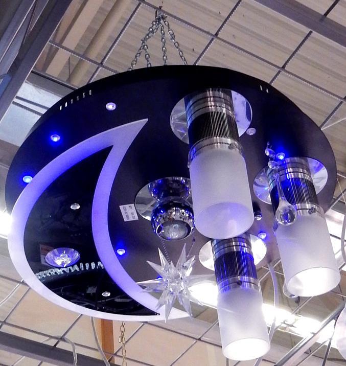 светодиодные люстры с пультом управления фото